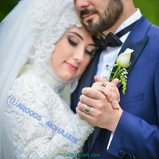 لباس عروس محجبه (۴)