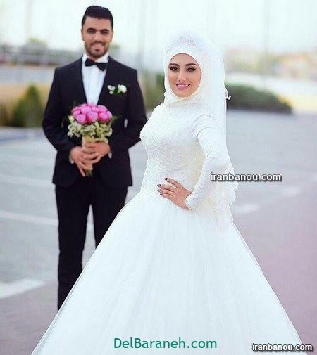 لباس عروس محجبه (۴۰)