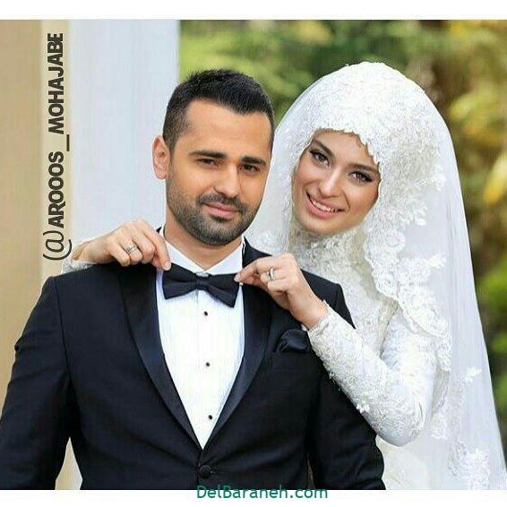 لباس عروس محجبه (۵)