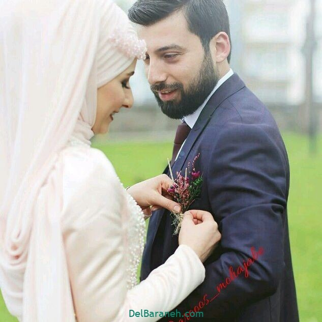 لباس عروس محجبه (۶)