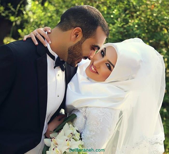 لباس عروس محجبه (۷)