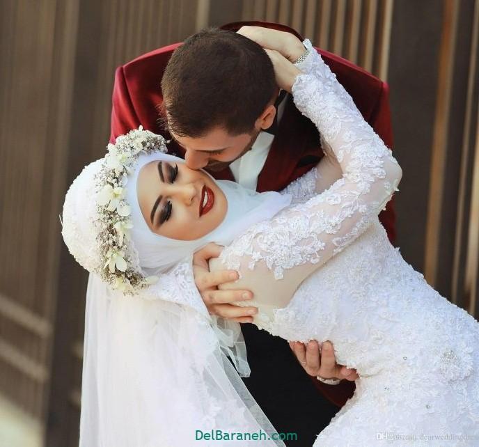 لباس عروس محجبه (۸)