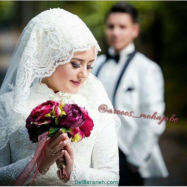 لباس عروس محجبه (۹)