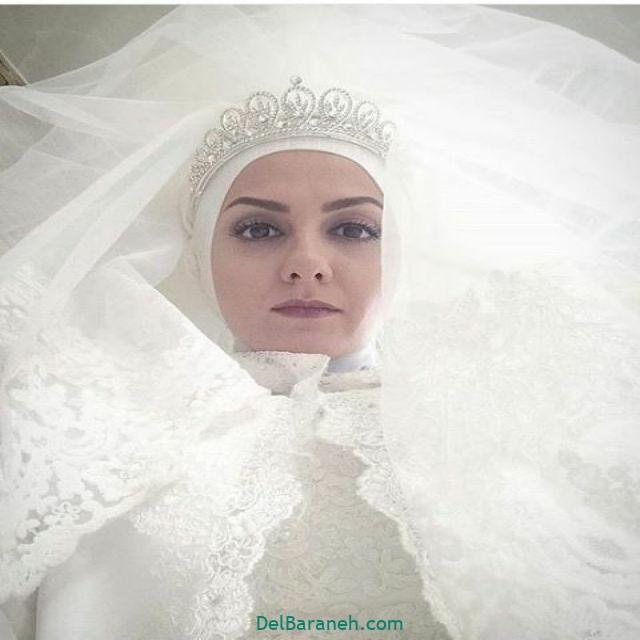 لباس عروس پوشیده بازیگران (۱)