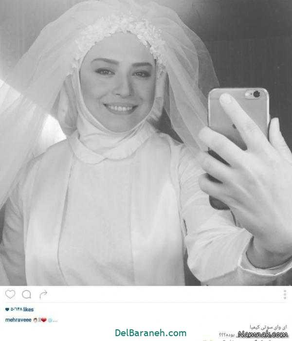 لباس عروس پوشیده بازیگران (۱۰)