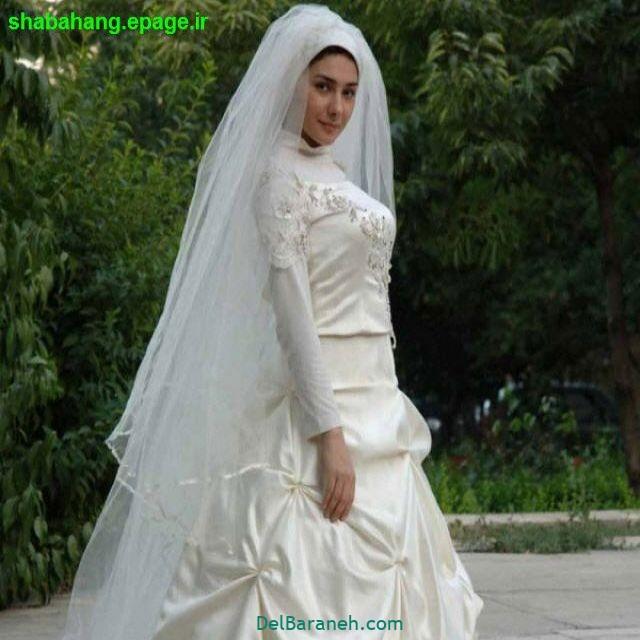 لباس عروس پوشیده بازیگران (۱۳)