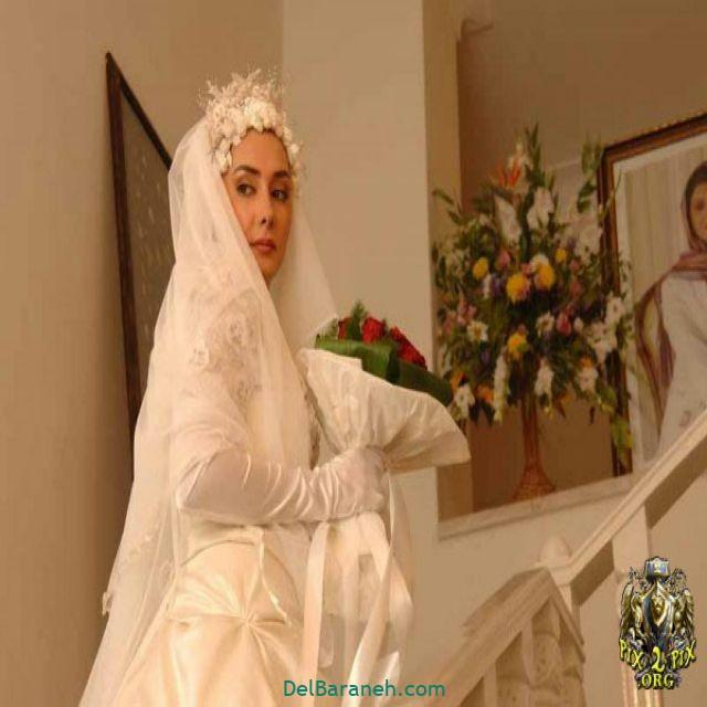 لباس عروس پوشیده بازیگران (۲)