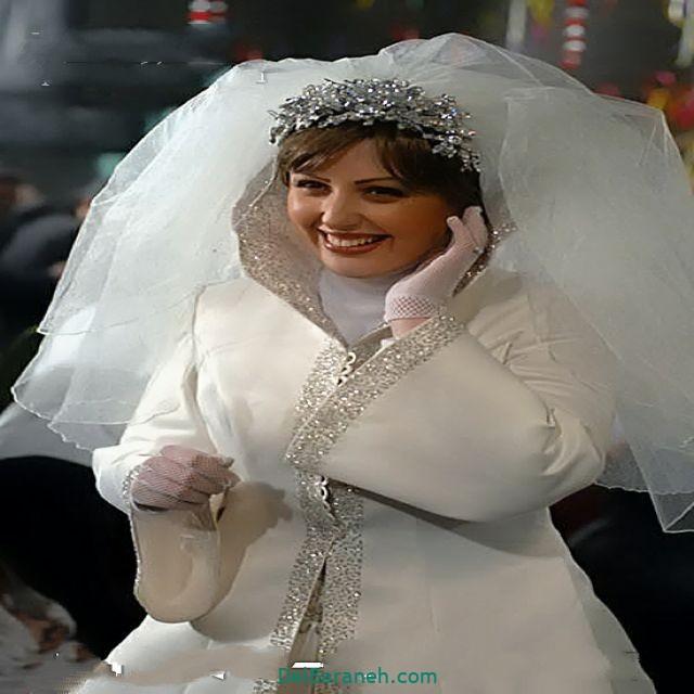 لباس عروس پوشیده بازیگران (۳)