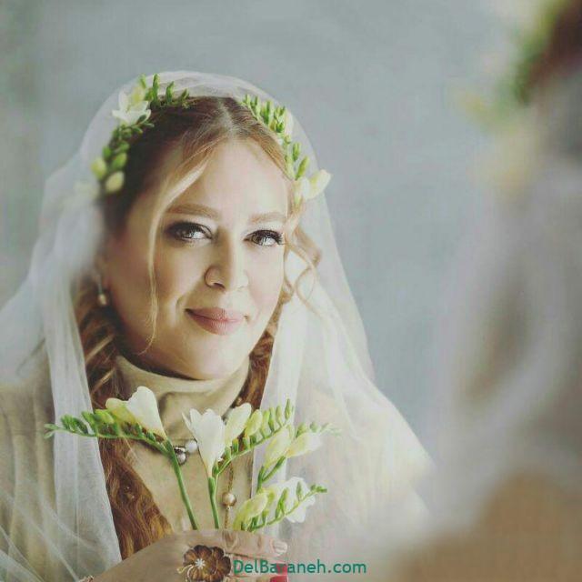 لباس عروس پوشیده بازیگران (۸)