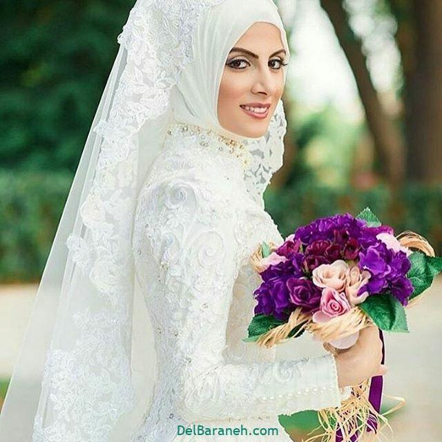 لباس عروس پوشیده (۱۱)