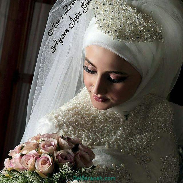 لباس عروس پوشیده (۲۰)