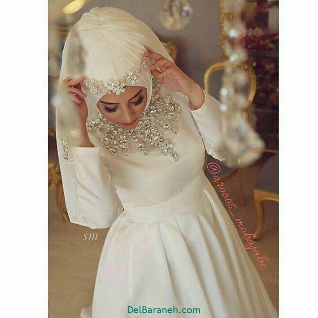 لباس عروس پوشیده (۲۴)