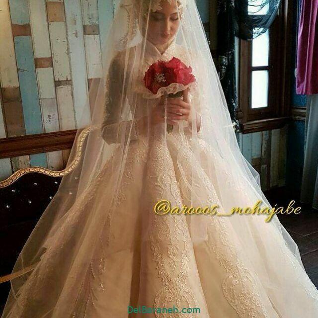 لباس عروس پوشیده (۳۰)