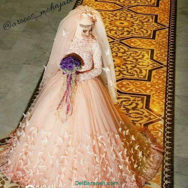 لباس عروس پوشیده (۳۲)