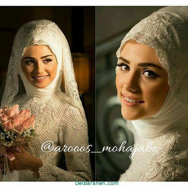 لباس عروس پوشیده (۳۳)