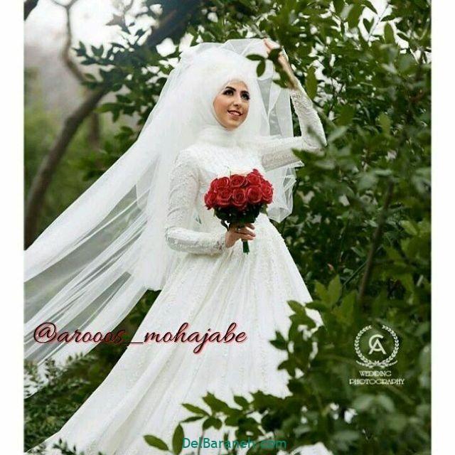 لباس عروس پوشیده (۳۴)