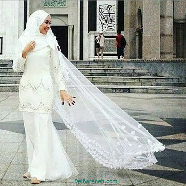 لباس عروس پوشیده (۳۵)