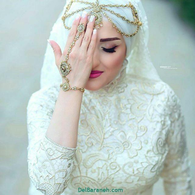 لباس عروس پوشیده (۴)
