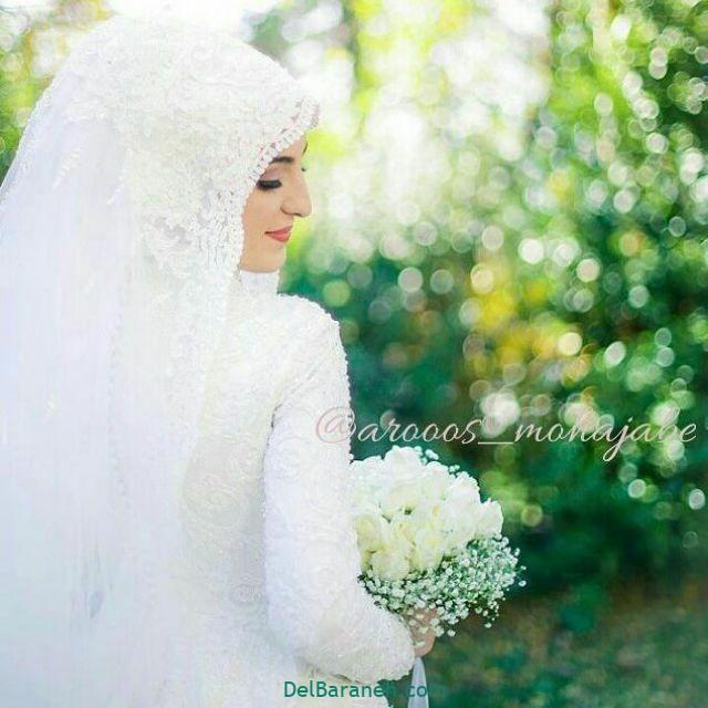 لباس عروس پوشیده (۶)