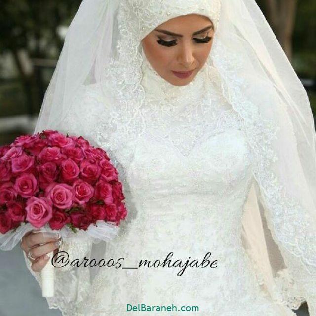 لباس عروس پوشیده (۹)