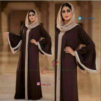مدل مانتو عربی | ۳۳ مدل زیبا و شیک مانتو عبا عربی مجلسی