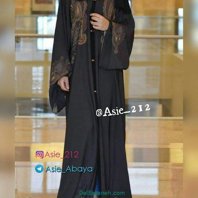 مدل مانتو عربی (۱۶)