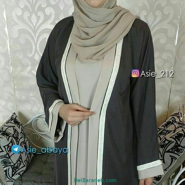 مدل مانتو عربی (۲۳)