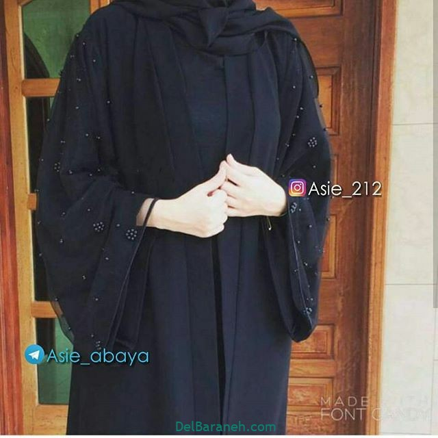 مدل مانتو عربی (۲۴)