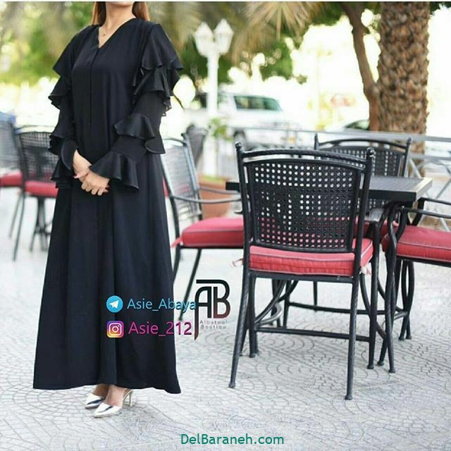 مدل مانتو عربی (۵)