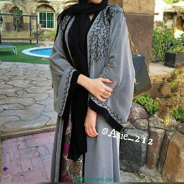 مدل مانتو عربی (۸)