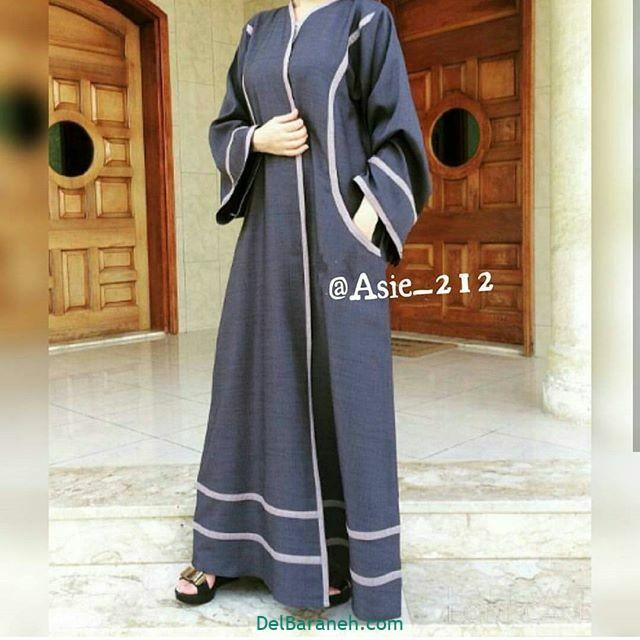 مدل مانتو عربی (۹)