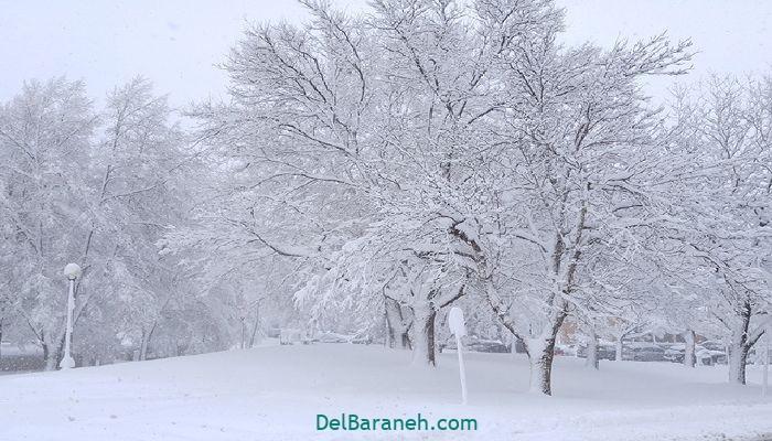 انشا یک روز برفی (۱)