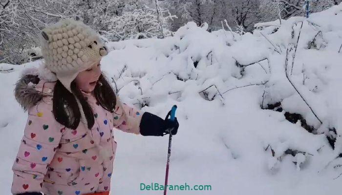 انشا یک روز برفی (۴)