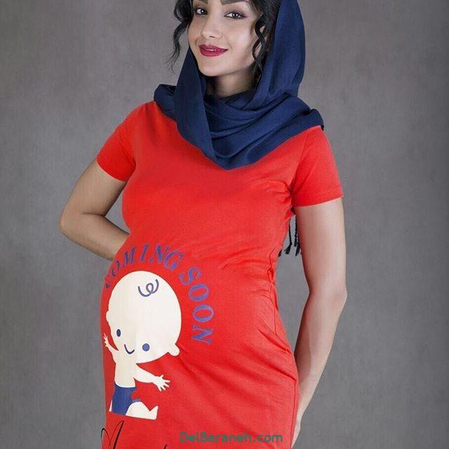 تیشرت بارداری فانتزی (۱)