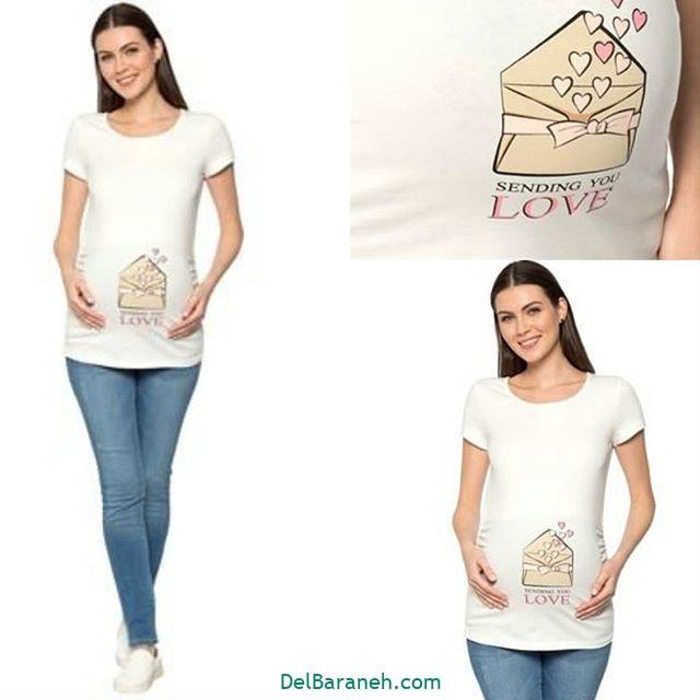 تیشرت بارداری فانتزی (۱۰)