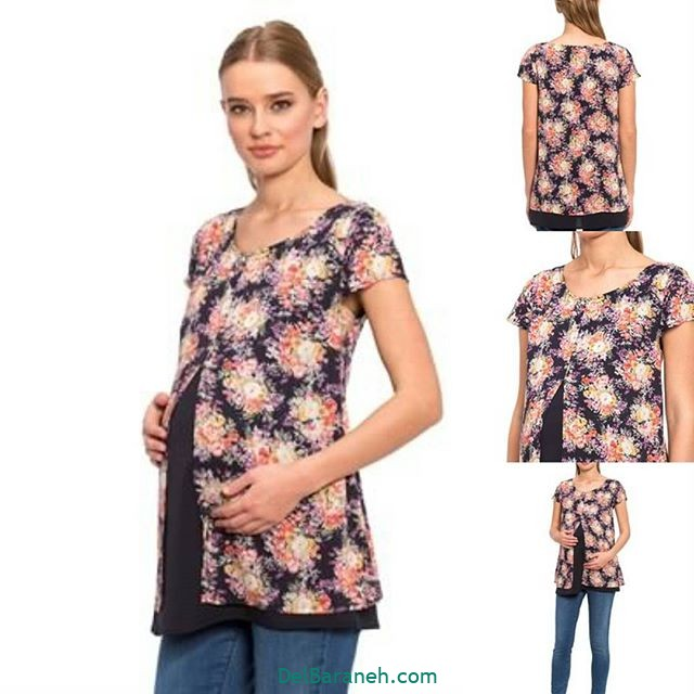 تیشرت بارداری فانتزی (۱۲)