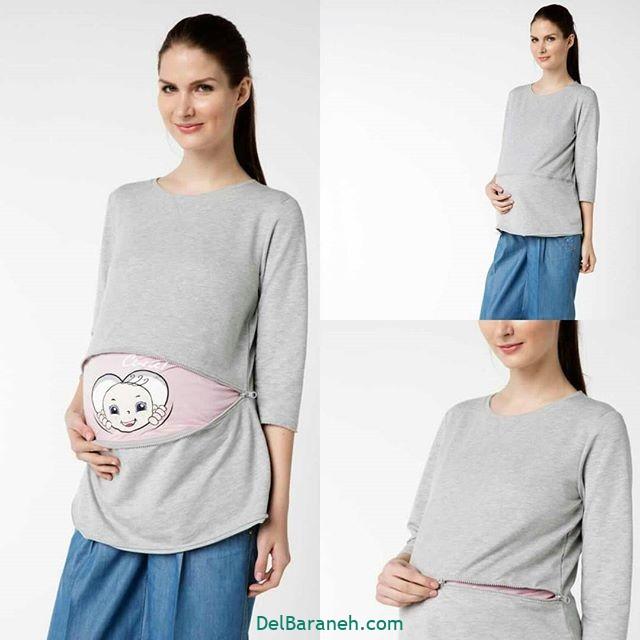 تیشرت بارداری فانتزی (۱۵)