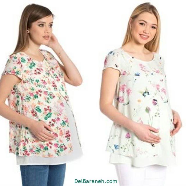 تیشرت بارداری فانتزی (۲۰)