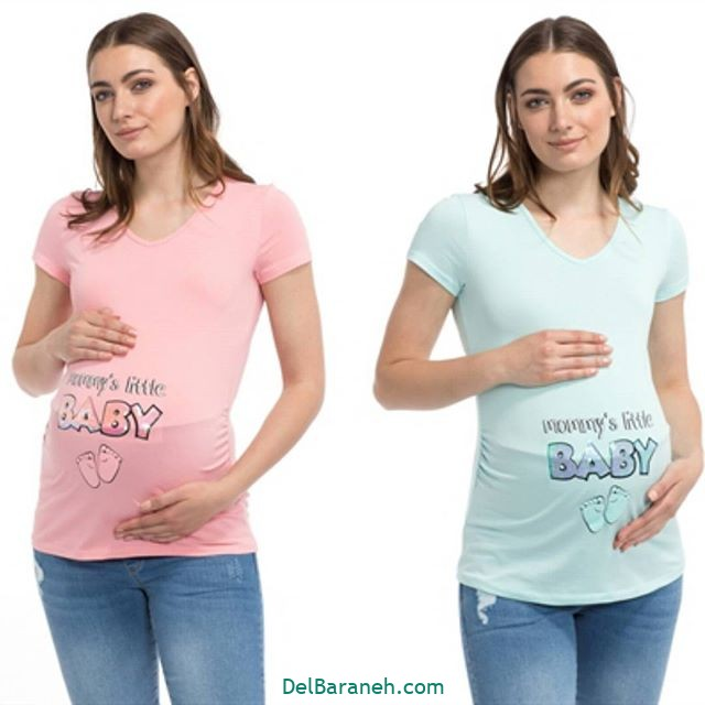 تیشرت بارداری فانتزی (۲۱)