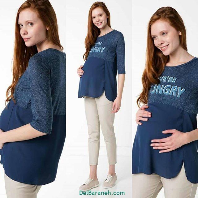 تیشرت بارداری فانتزی (۲۲)