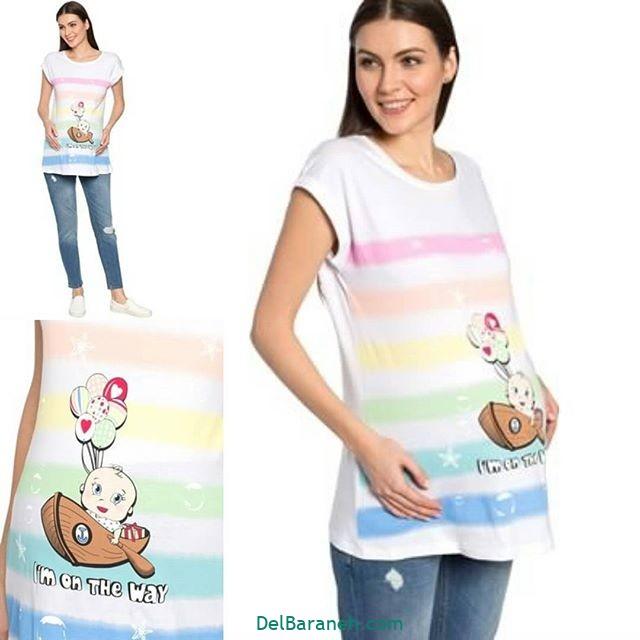 تیشرت بارداری فانتزی (۸)