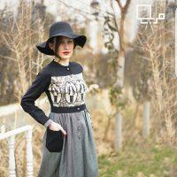 مانتو دامن دار | ۳۰ عکس مانتو طرح پیراهن  و دامن دار سنتی و دخترانه