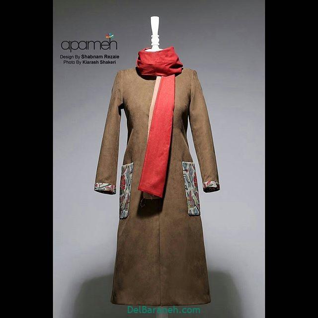 مدل مانتو زمستانی (۱۰)