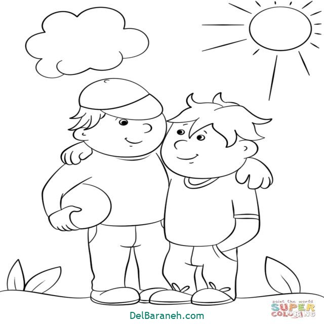 نقاشی درباره دوستی (۱۱)