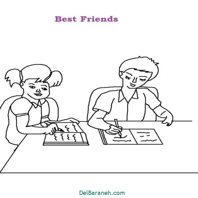 نقاشی درباره دوستی (۱۴)