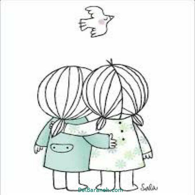 نقاشی درباره دوستی (۸)