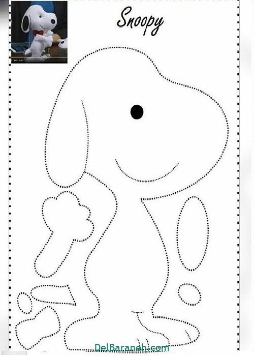 الگو سگ نمدی (۴)