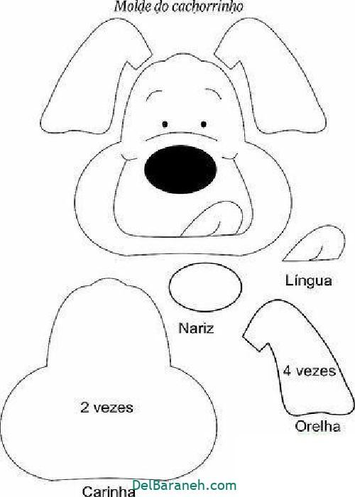 الگو سگ نمدی (۵)