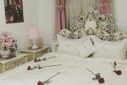 تزیین تخت عروس   ۲۰ مدل تزیین ساده و شیک تخت خواب عروس و داماد