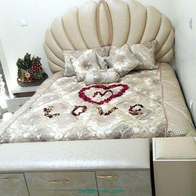 تزیین تخت عروس (۱۳)